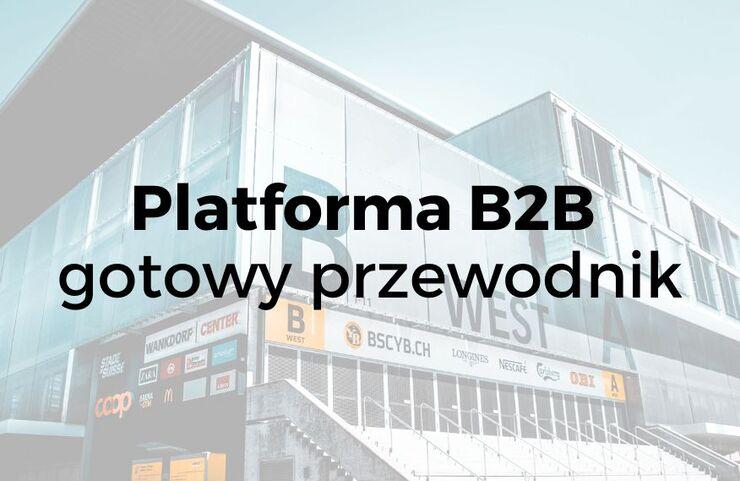 Platforma B2B – gotowy przewodnik od pomysłu do wdrożenia